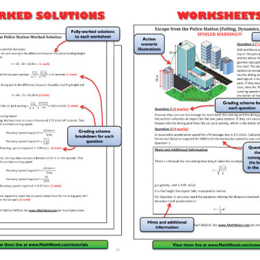 Worksheets and Worked Solutions
